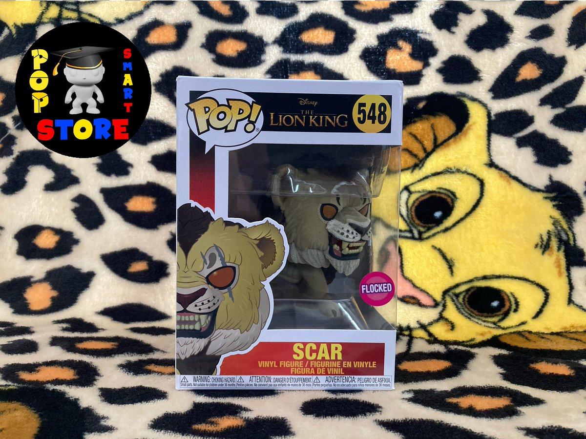 Scar (flocked) - No548 - £10.00  #Disney #TheLionKing #Funko #FunkoPop
