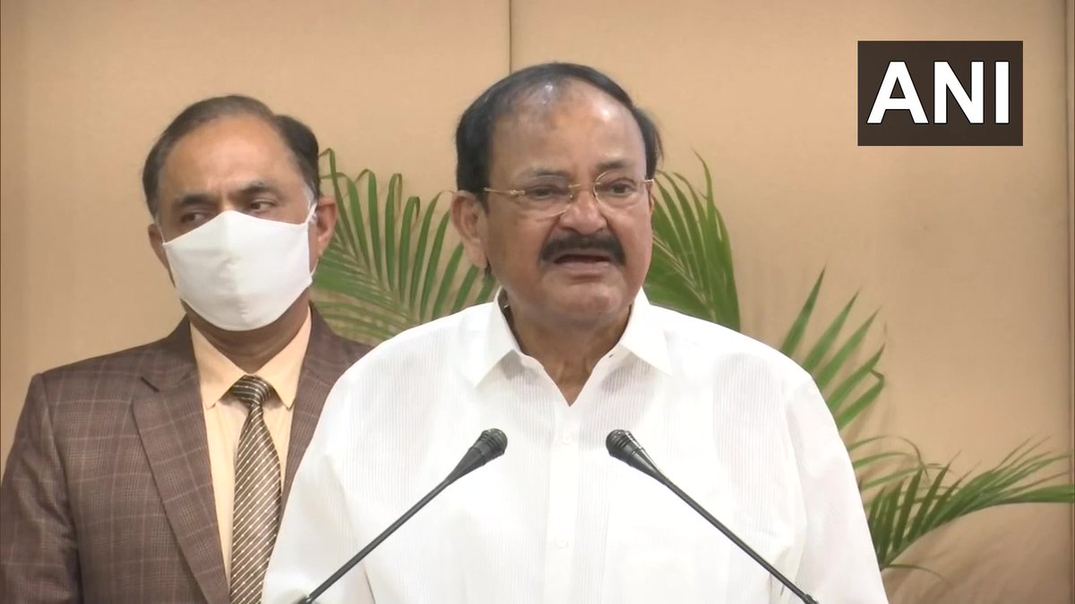 Nationalism doesn't mean only saying 'Jai Hind' or singing 'Jana Gana Mana' or 'Vande Matram'.'Jai Hind' means every Indian's 'Jai ho' which is possible when their needs are taken care of, they're fed properly, have clothing&don't face discrimination:Vice President V Naidu (23.1)