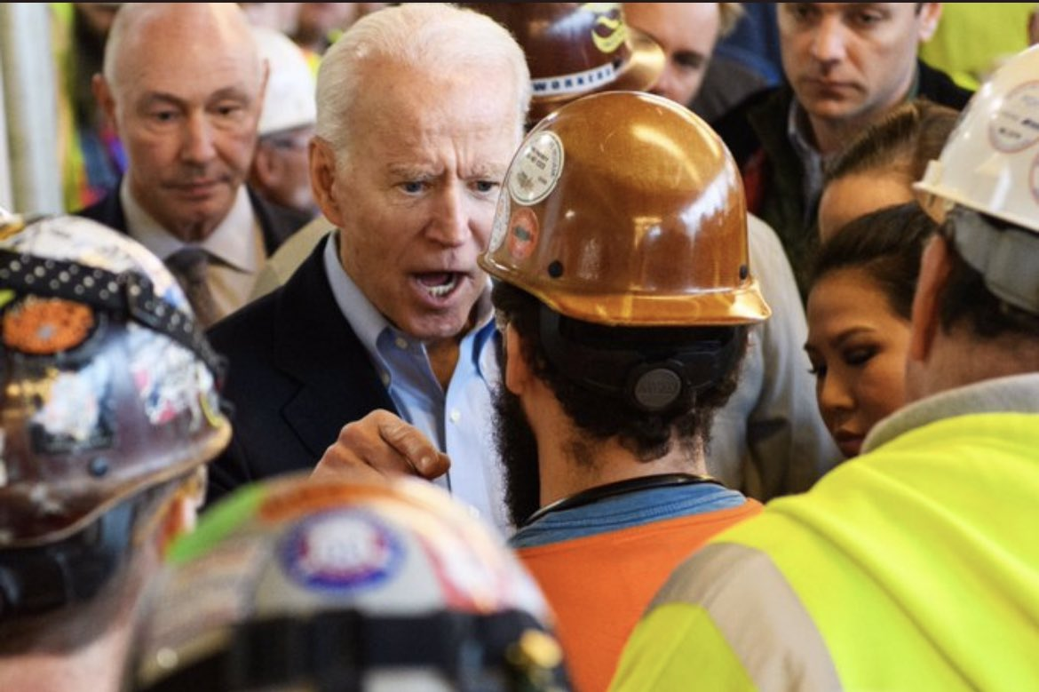 """I don't work for you"" - @JoeBiden  It's becoming clearer every day who ""the great unifier"" does and does not work for. #BidenAdministration #Biden"