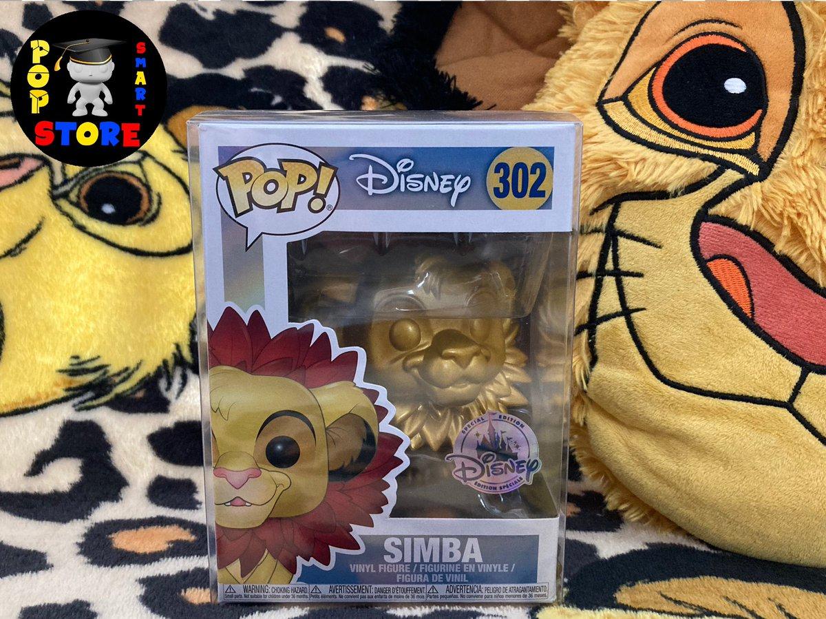 Simba (Disney Special Edition) - No302 - £18.00 (in pop protector?  #Disney #TheLionKing #FunkoPop #Funko
