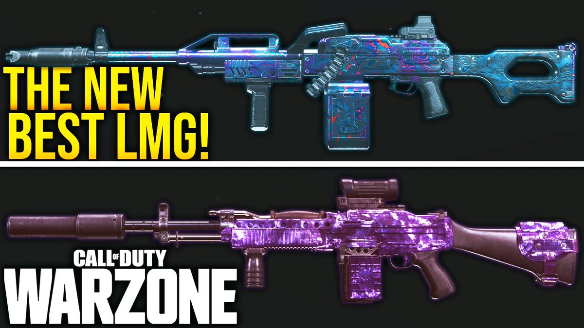 WhosImmortal - Today we're comparing the Bruen, the PKM, and the Stoner to one another and seeing which LMG is the king of #Warzone currently! Definitely some surprising stats in here!   👉