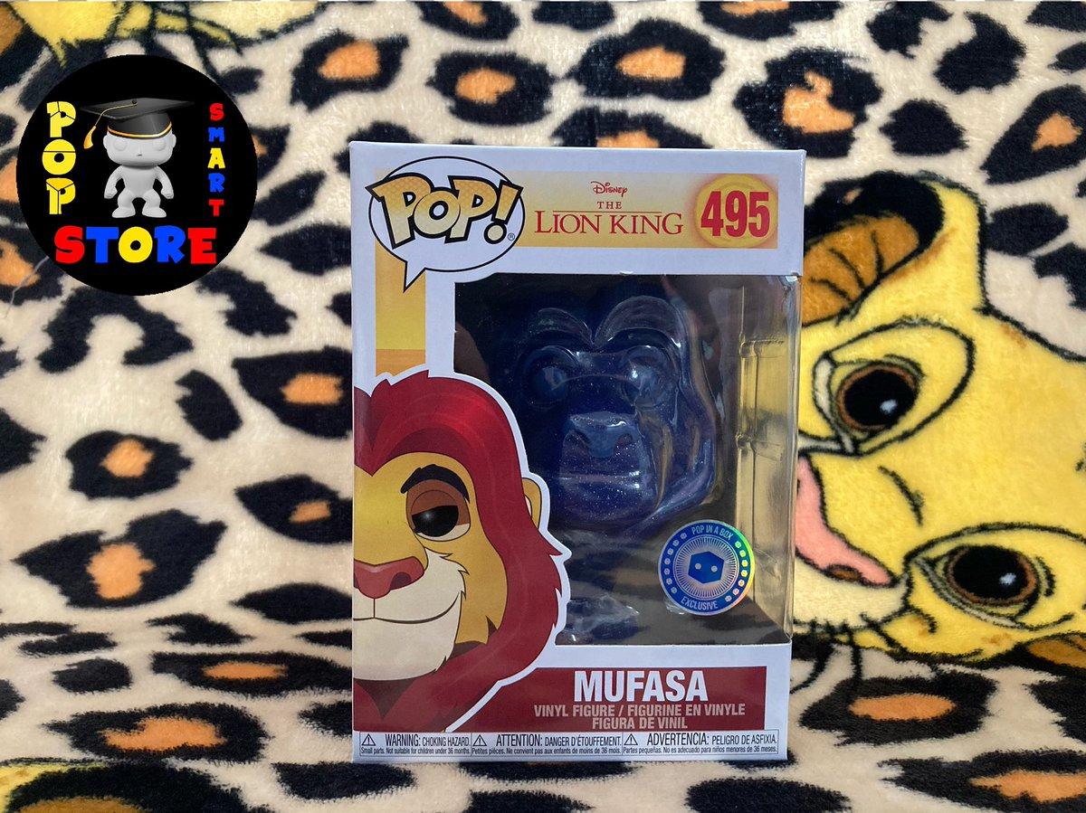 Mufasa (PIAB Exclusive) - No495 - £18.00  #Disney #TheLionKing #FunkoPop #Funko