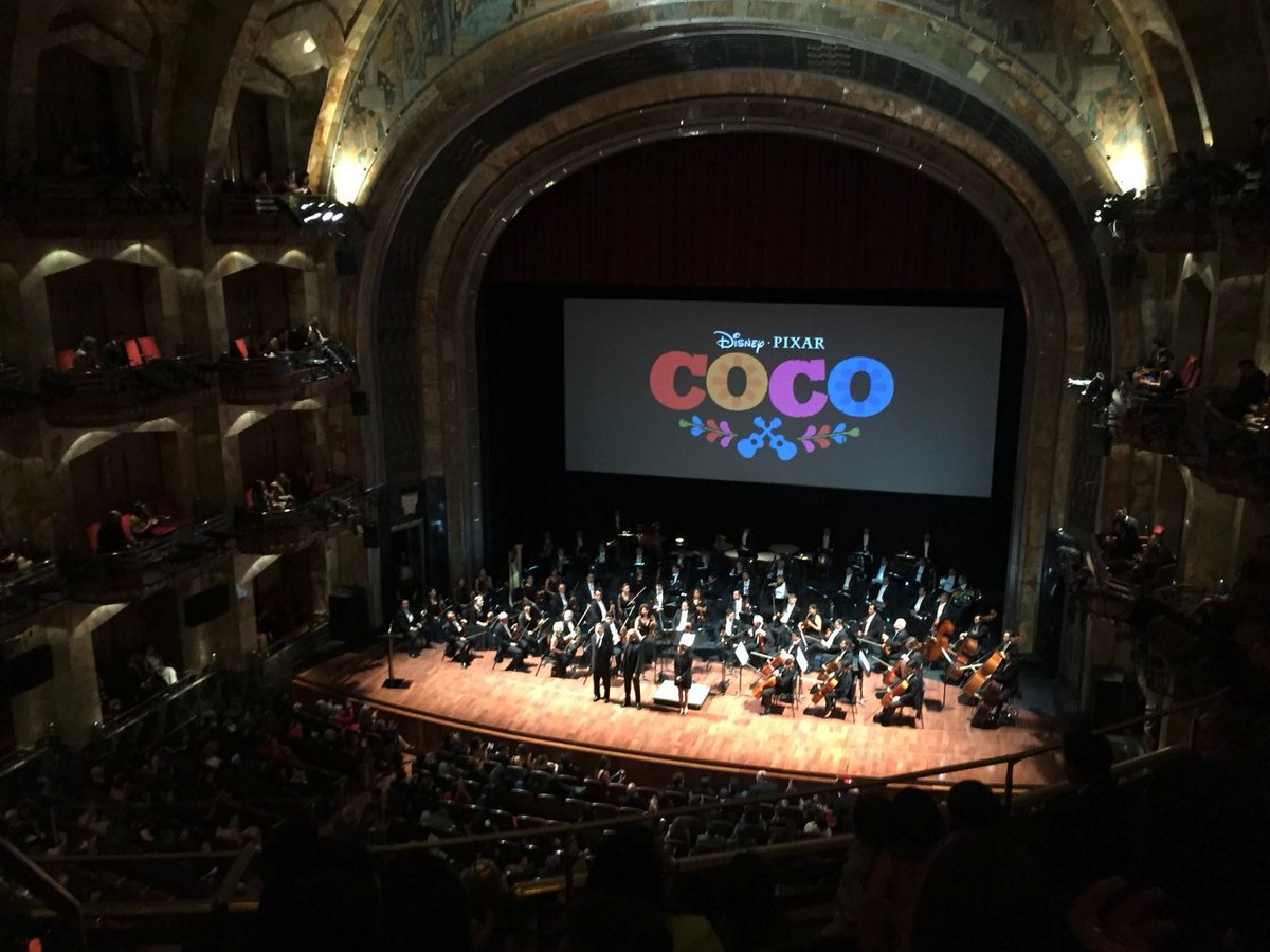 40 plus years later (in 2017) I would attend another event at El Palacio de Bellas Artes in #CDMX, the Mexican benefit premiere of #Coco, the Pixar film on which I was a Cultural Consultant on.