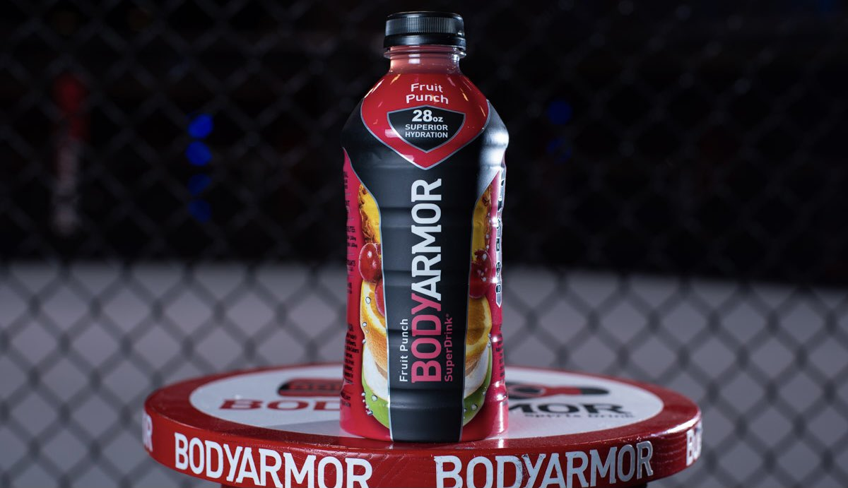 The Official Sports Drink of the @UFC 💪  Stock up for #UFC257 at your local @caseysgenstore 🔥