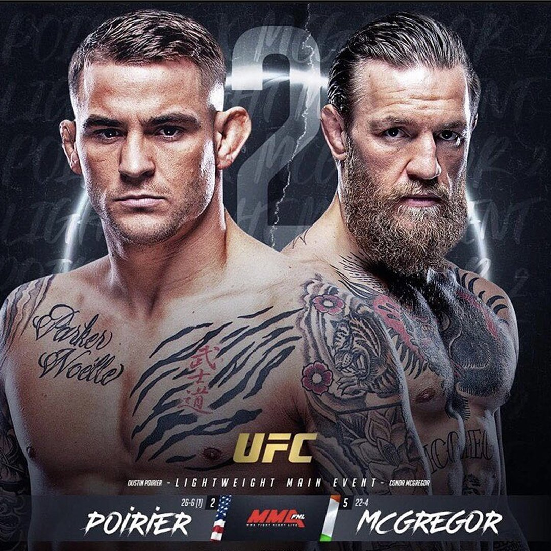 #UFC257 goes down tonight! Whether you're watching it at our house, or your house it's bound to be a good one! - Who ya got? Tell us below! - #ourhouseisyourhouse #ufc #mcgregor #poirier
