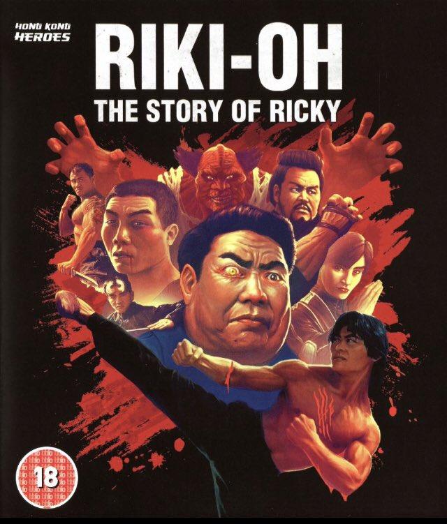 By far the weirdest, goriest craziest film I've ever seen.   #RikiOh #StoryOfRicky #MartialArts #KungFu