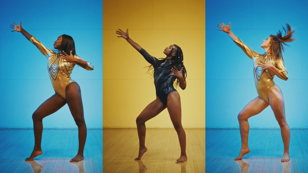 "Introducing the 2021 UCLA Gymnastics team.  🎬: @DeannaHong, @valentinavee, and @beejaydas 🎶: ""Joan of Arc on the Dance Floor"" by Aly & AJ"