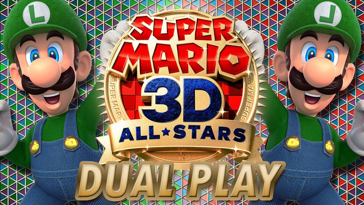 Super Mario 3D All-Stars Dual Play [40] Double Luigi Madness    #SuperMario3DAllStars #SuperMarioGalaxy #Mario #Mario3DAllStars #SuperMario #SuperMario3DCollection #SuperMario3DWorld #BowsersFury
