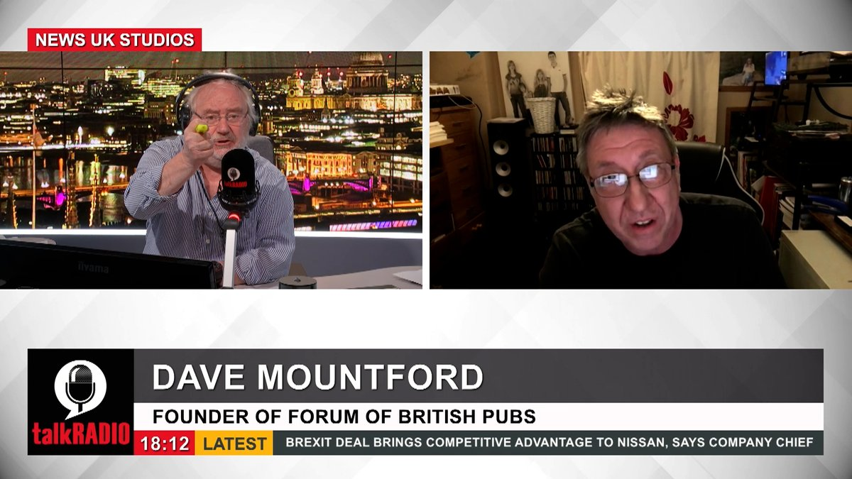 Dave Mountford, from The Forum of British Pubs says before the pandemic 19 pubs a week were closing partially due to the actions of venture capitalists in the industry. Mike Parry says it is because they were poor pubs. What is your response? @mikeparry8 | @forpubs