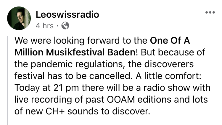Excited to be featured by DJLeo of LeoSwissRadio🇨🇭on his radio show today! Grateful for his support🙏 @SwissRadioDJLeo @ShamelessPR_ #radioshow #postpunk #darkwave #coldwave #gothic #NewMusic #NewMusicAlert #NewMusicDaily #NewMusic2021 #NewRelease #NewReleases