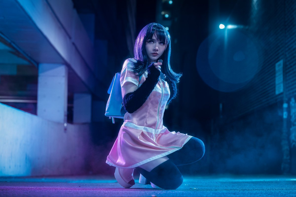 """A wise man once said """"It's bad luck to pick up loose change.""""  WHY aren't you watching Akudama Drive? Find it on @FUNimation   Photographer:   #アクダマドライブ #AkudamaDrive @akudamadrive"""