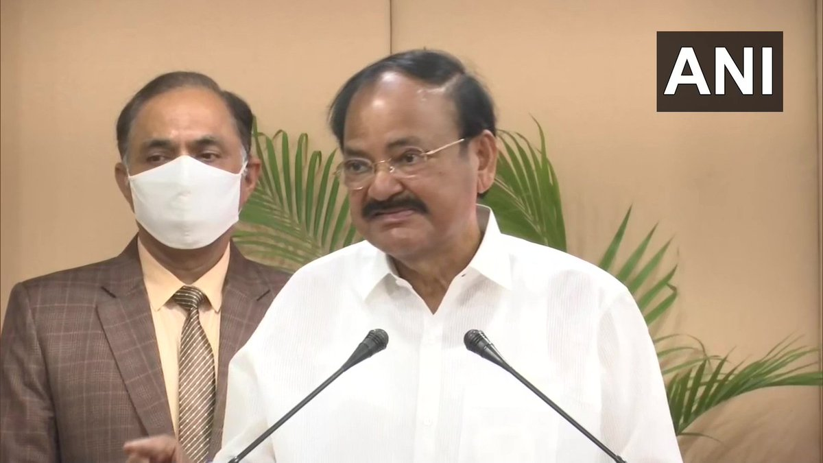 By freedom, Netaji didn't mean merely emancipation from political bondage, but also equal distribution of wealth, abolition of caste barriers&social inequalities & destruction of communalism&religious intolerance. You love & practice your religion but don't hate others: Vice Pres