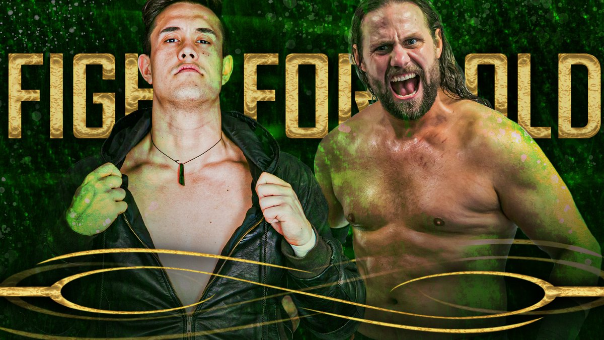 HUGE! SPW #FightForGold Night One features two #NewZealand veterans going at it with everything to prove in a Qualifying Match for the Fight for Gold Ladder Match on Night Two!  The returning Slade Mercer takes on the re-invented 'Shooter' Shane Sinclair!