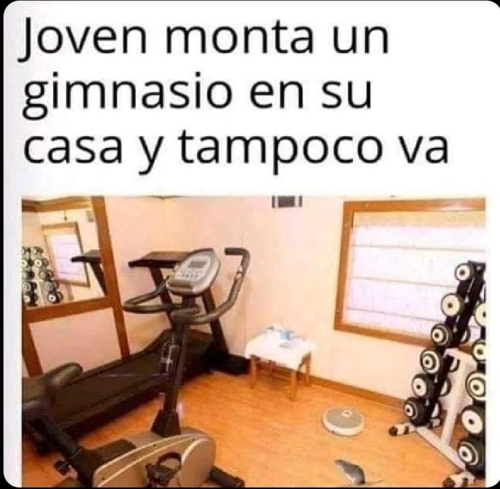 A veces se pasa la emoción, pero vuelve cada principio de mes, no es que no! #Gym #Ejercicios #Deportes #Salud #Energía #CarlosGill