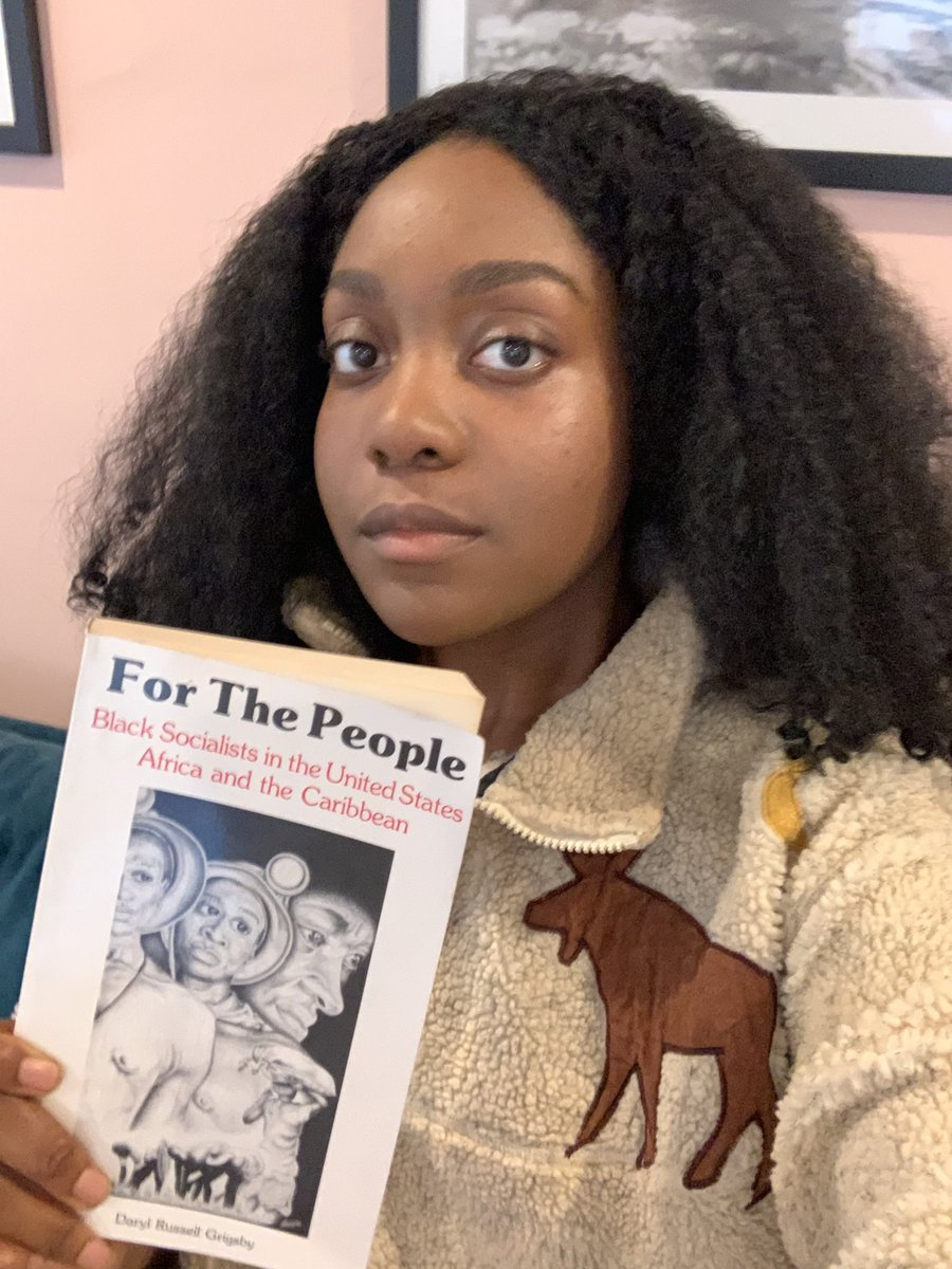 blk socialists are responsible for many improvements in the work/social lives of blk americans. blk folks in the u.s actually pushed the communist party here to adopt a more radical framework. we have to study our history beyond the confines of white supremacist liberal education