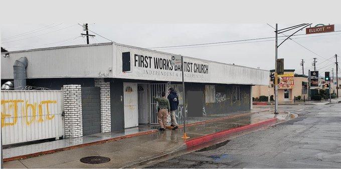 FBI Investigating Homemade Bomb Attack on Baptist Church in California