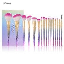 Docolor 16PCS Professional Makeup Brushes Fantasy brush Set Foundation Powder Eyeshadow Kits Gradient color makeup brush set   #fitness #beauty #life #bestoftheday