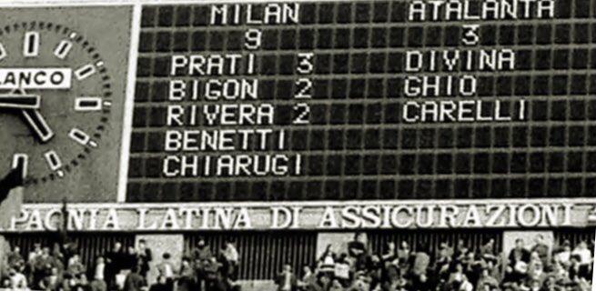 Quando perdiamo con l'Atalanta mi consolo ripensando ad una partita del 1972 😁#MilanAtalanta