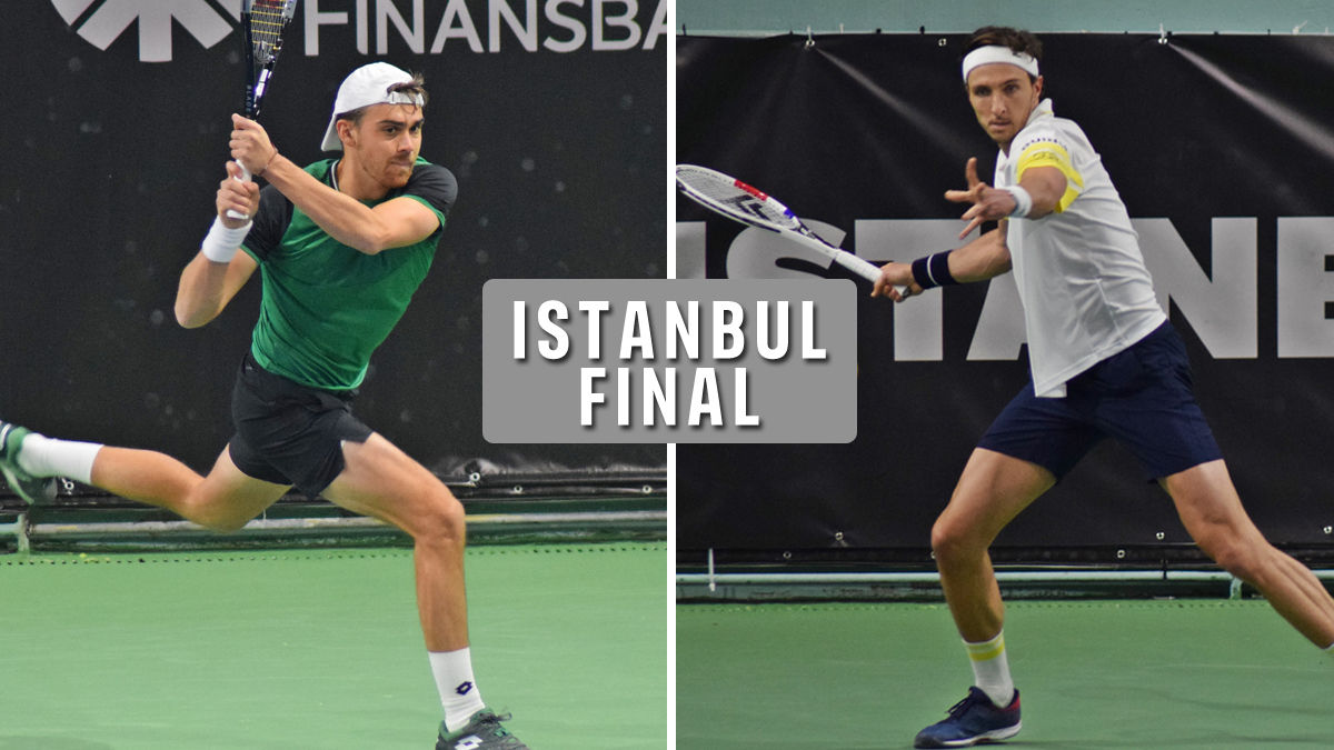 The first 🏆 of 2021 is up for grabs on Sunday. It will be an all-🇫🇷 affair in Istanbul.  @BenjaminBonzi vs. @arthurrinder https://t.co/etdpKldcGe