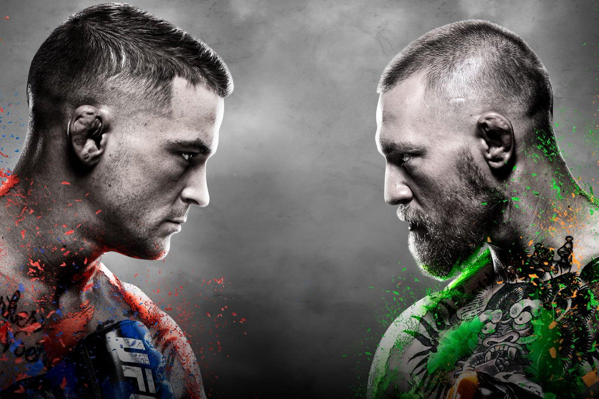 #UFC257  Who's READY for #McGregorPoirier2 👊🩸🤕  #UFC #MMATwitter #GamblingTwitter #OMG #LFG!