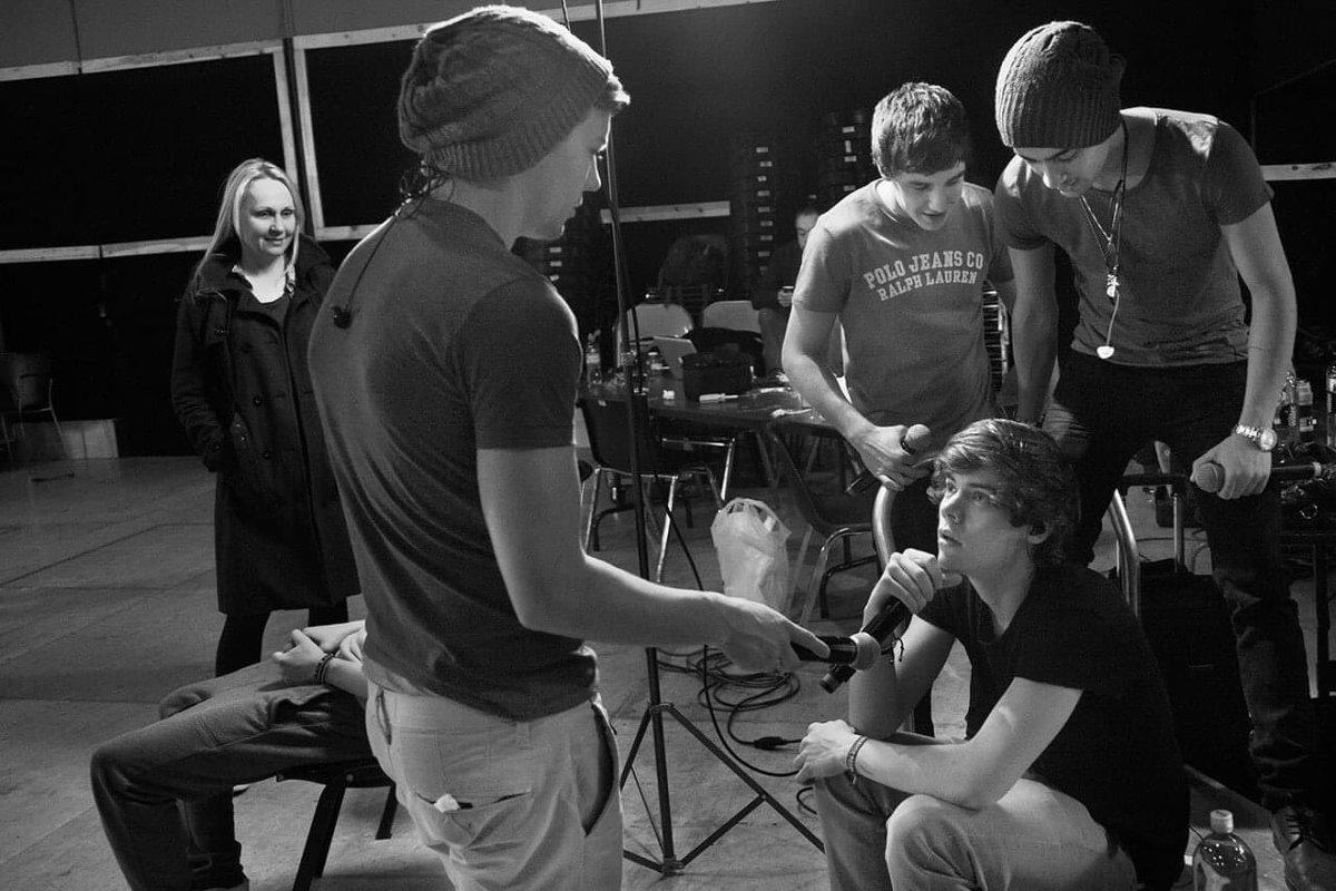 Photo of Louis Tomlinson, Harry Styles, Zayn Malik and Liam Payne.