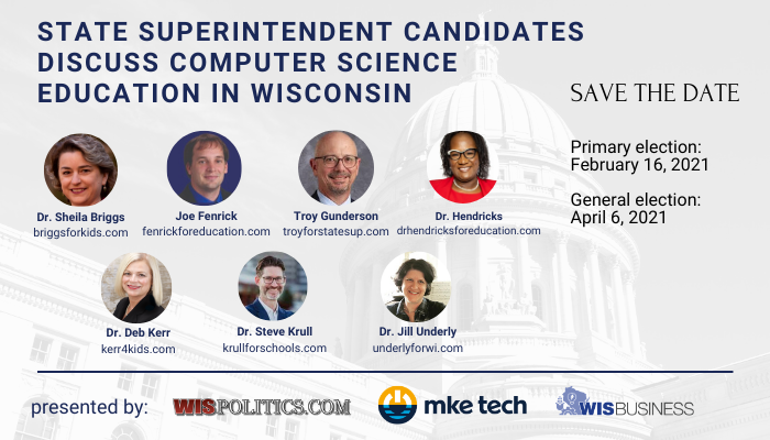 #mketech - get to know the candidates for state superintendent for the WI Department of Instruction.