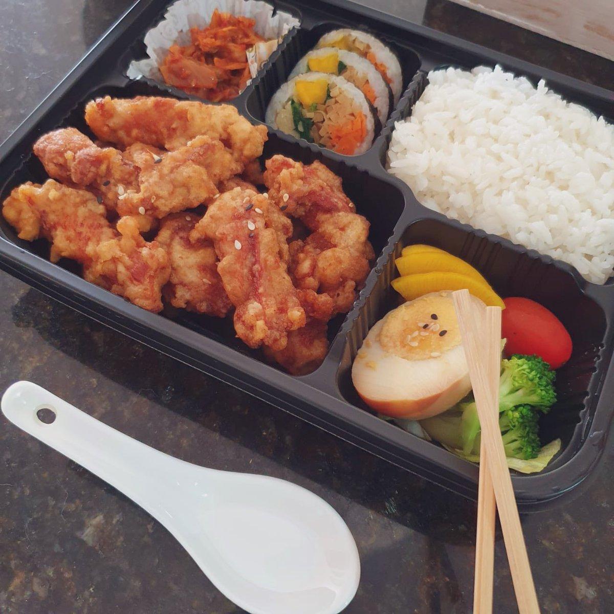 Hoy nos decidimos por la comida coreana 🍱😋