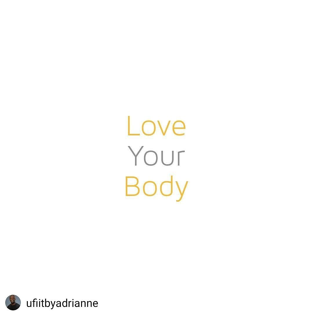 🔴I know you do, just a reminder in case you forgot to. #loveyourbody #saturdayvibes #Getufiitnow #quotestoliveby