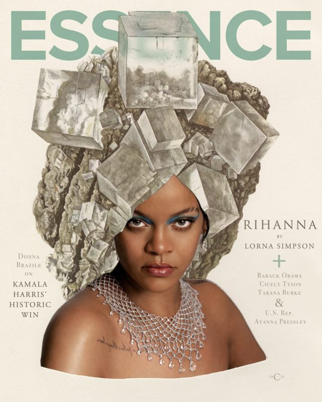 #Rihanna and African-American photographer/artist #LornaSimpson are breaking new ground on the Jan/Feb issue of #Essence magazine.