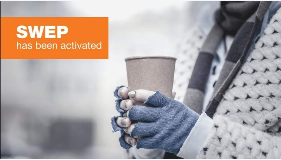 Folks, its freezing tonight. That means your local authority has to get homeless people inside. Please make sure this happens by referring anyone you see via @Tell_StreetLink. #SWEP apps.apple.com/gb/app/streetl… play.google.com/store/apps/det…