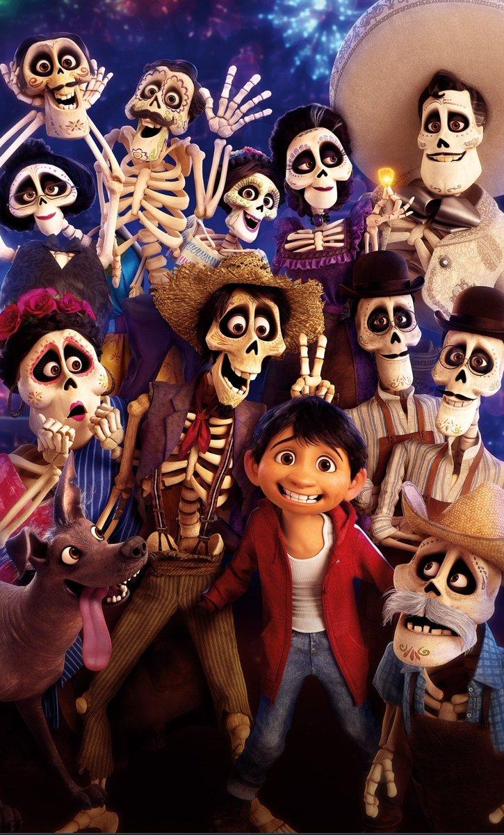 """Viens de découvrir le film de Disney """"Coco"""" et ben franchement c'est une très belle découverte je le recommande vivement ! #Disney #Coco"""