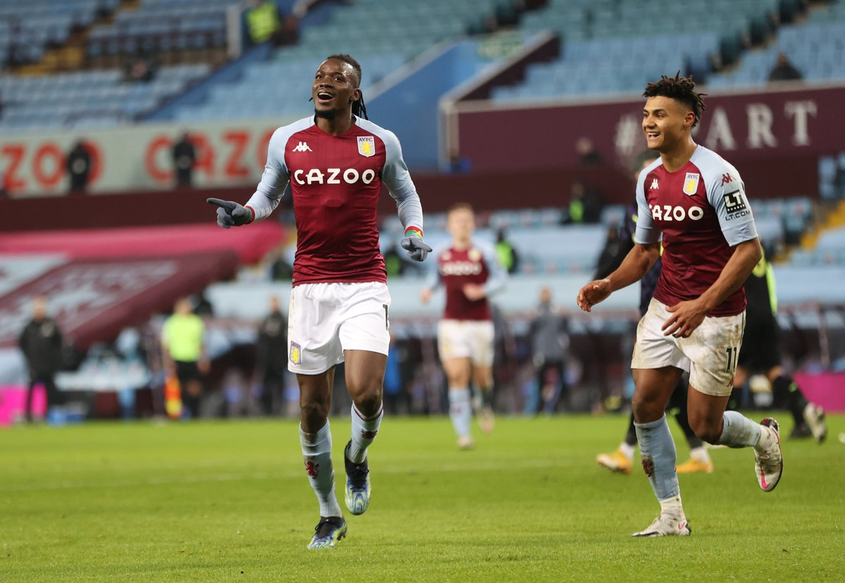 HALF-TIME Aston Villa 2-0 Newcastle  Ollie Watkins' header and Bertrand Traore's first-time strike give the hosts a commanding lead at the break  #AVLNEW