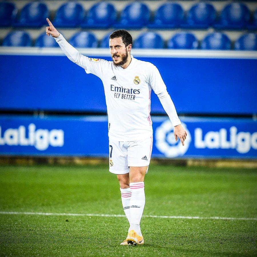 41'—assist  45+1'—goal   That Eden Hazard magic is back ✨