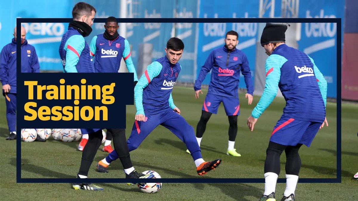 🔜 #ElcheBarça 💪 Últim entrenament abans del partit!