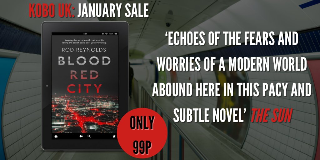 Video footage of an apparent murder on a London train thrusts crusading journalist Lydia into a terrifying web of money, politics & power…  @Rod_WR's tense, shockingly believable #thriller #BloodRedCity is #99p   #kobo  #Kindle