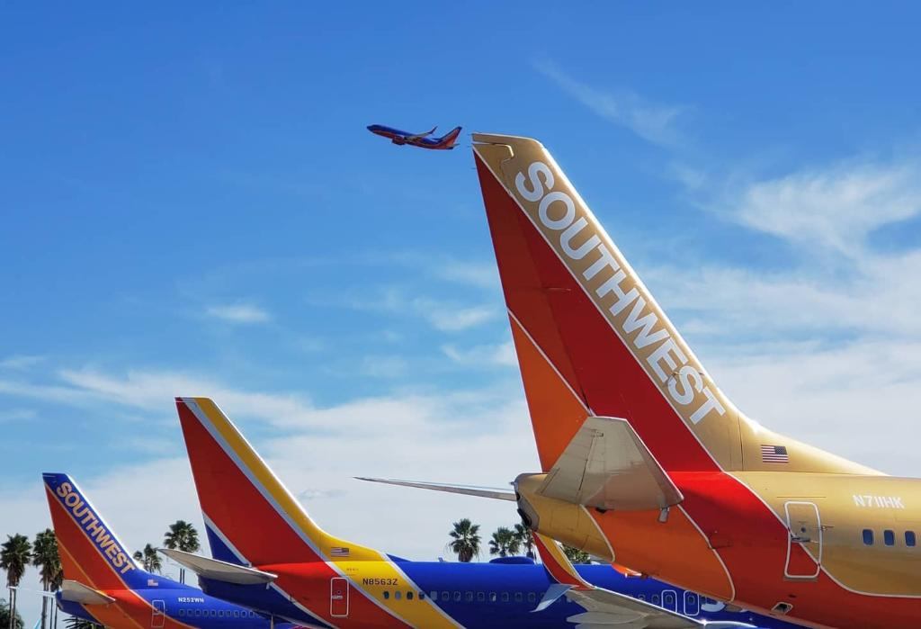 Three generations of LUV. (photo by Alex L. at MCO)