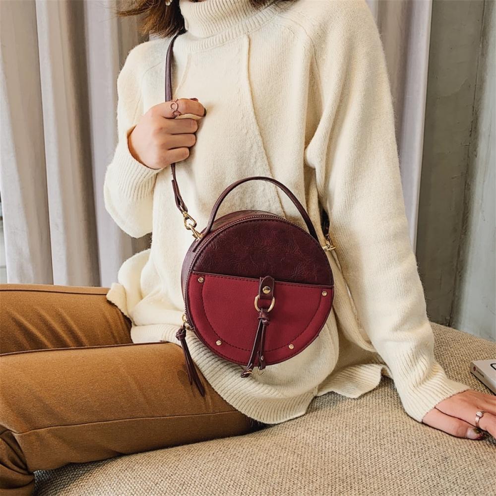 Women's Round Shaped Vintage Style Handbag #cute #photooftheday