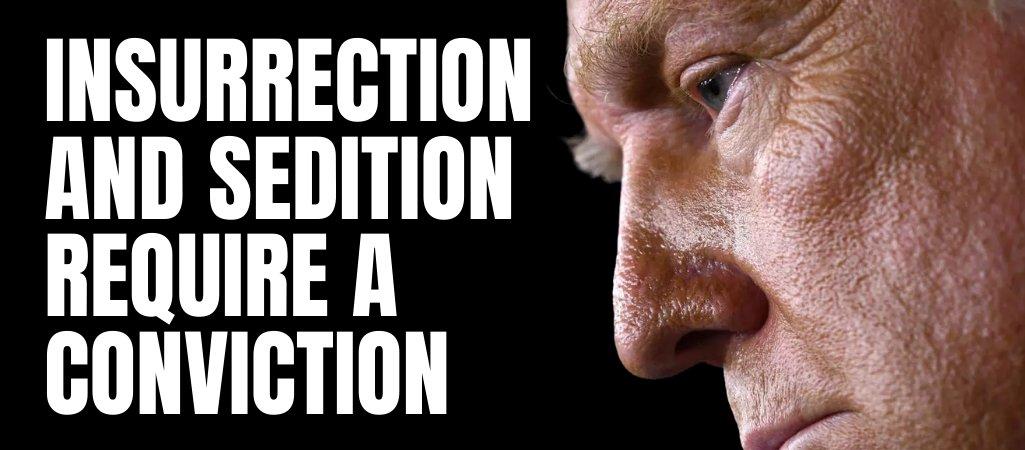 @RyanGirdusky @DonaldJTrumpJr #ConvictAndDisqualify #InsurrectionHasConsequences @GOP