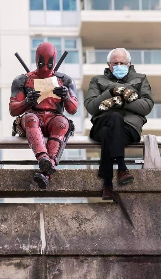 Replying to @HelloMabel: After much consideration, this one is my favourite. Man,I love Deadpool. ❤