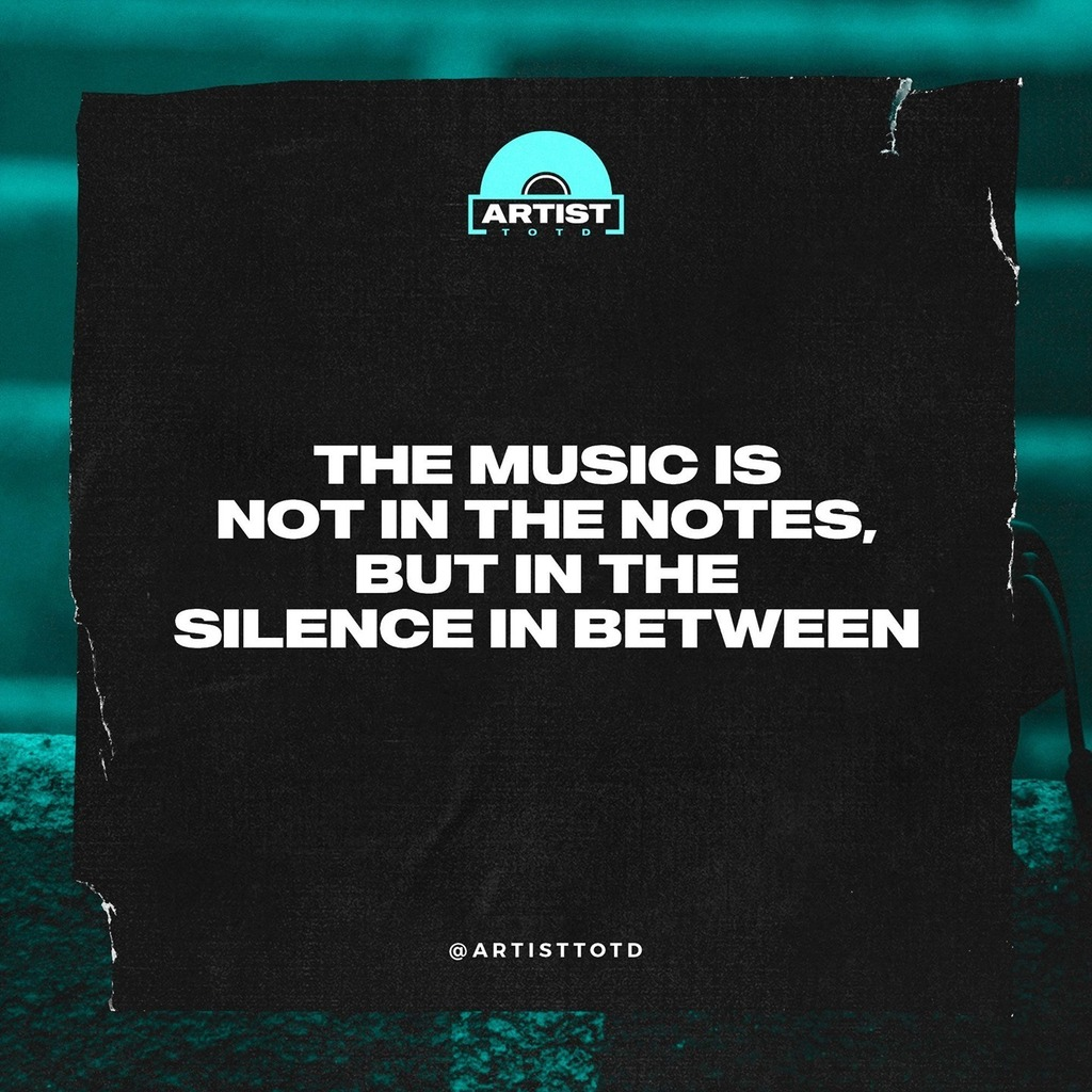 The music is not in the notes, but in the silence in between.⠀  •⠀ •⠀ •⠀ #motivation #fitness #love #inspiration #photooftheday #instagood #lifestyle #travel #happy #life #art #picoftheday #goals #entrepreneur