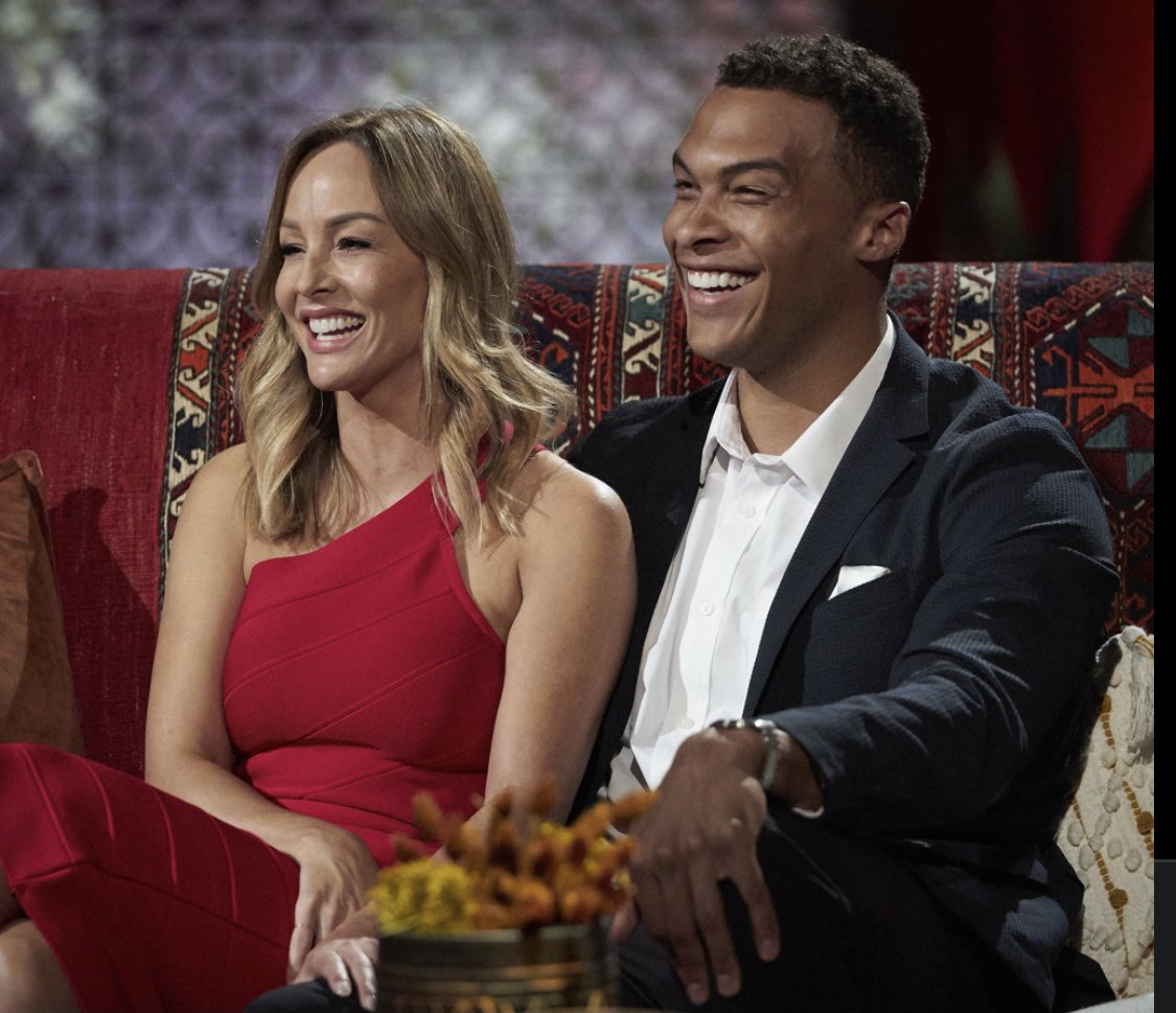 """We were all thinking it......""""we are gonna sell the star crossed lovers from district twelve"""" #bachelorette #BachelorNation #clareanddale"""