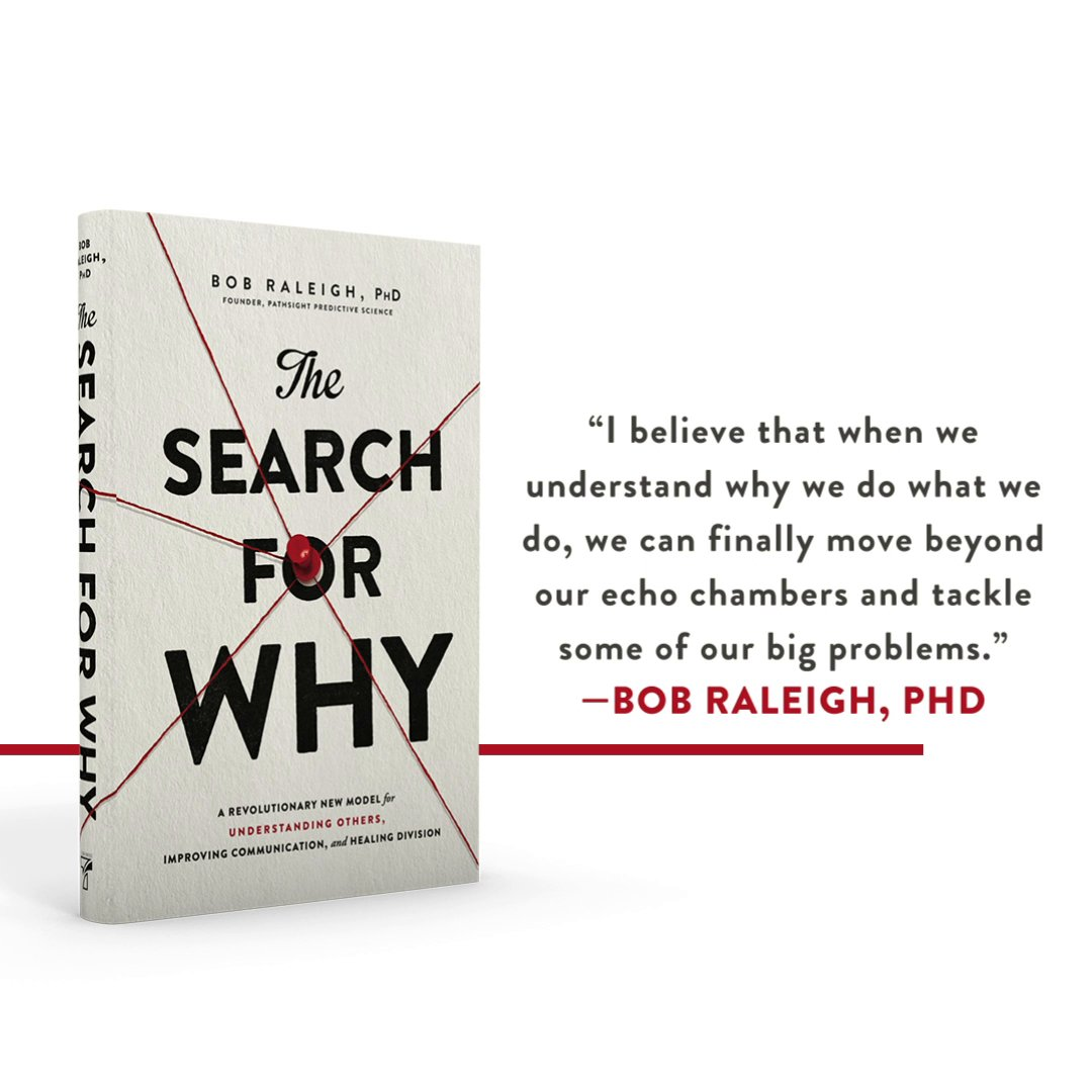 Have you ever wondered why we do what we do? Author @raleigh_bob cracks the code to the drive behind human behavior in #SearchforWhyBook: 📖   #TillerPress