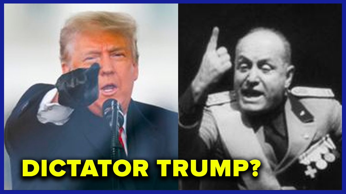 This is why we must convict him. Historian @ruthbenghiat on the similarities between the personalities of Trump and dictators like Hitler and Mussolini.