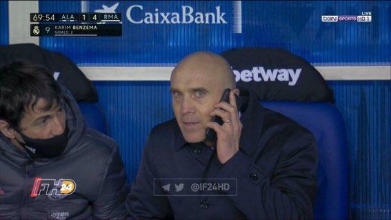 """yes boss, karim has equalled Jovic's goals tally."""