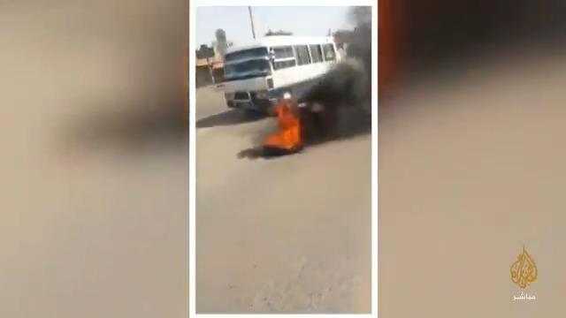 احتجاجات في #السودان على تردي الأوضاع الاقتصادية بعد رفع أسعار #الخبز و #الوقود
