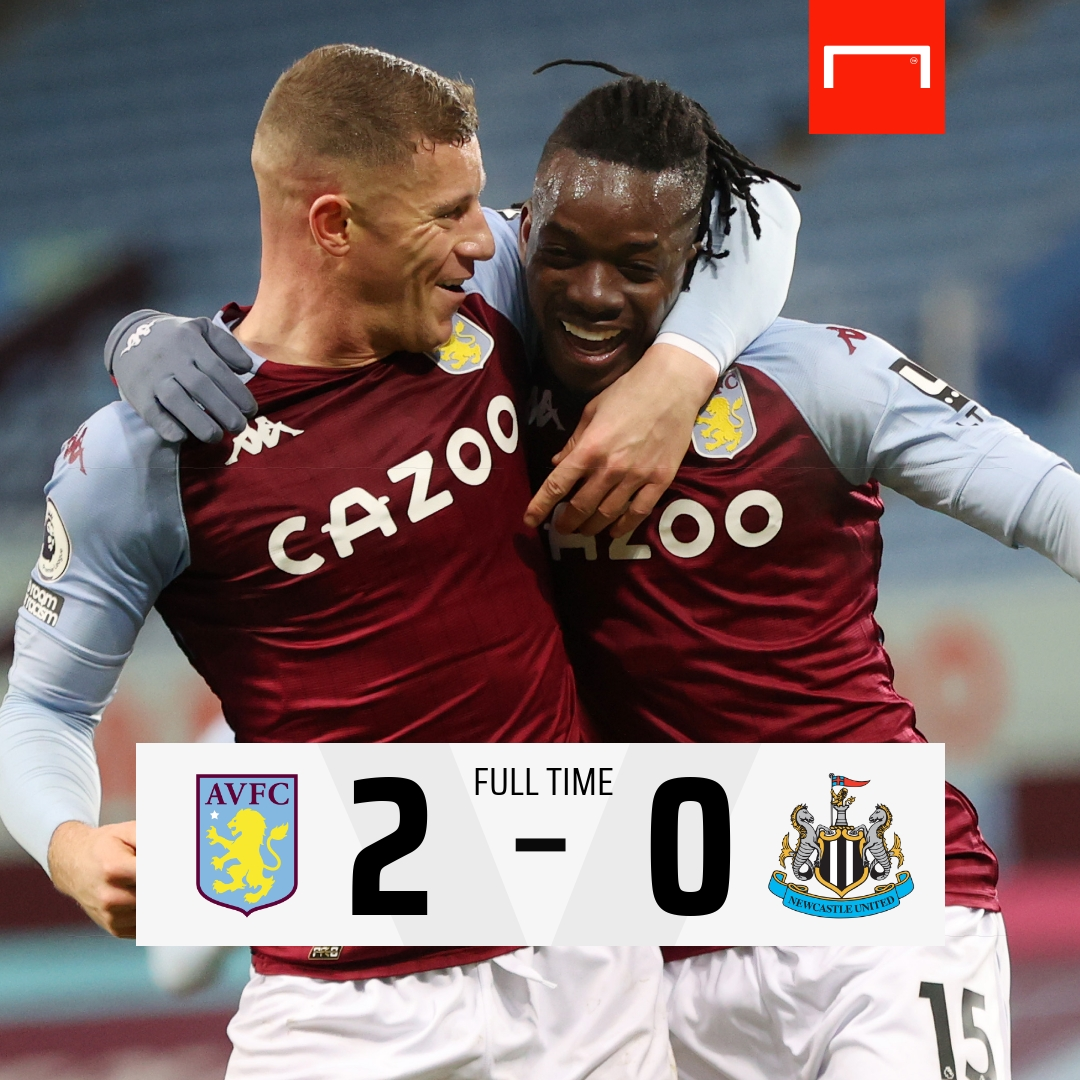 A comfortable win for Aston Villa moves them up to eighth in the Premier League 📈 #AVLNEW