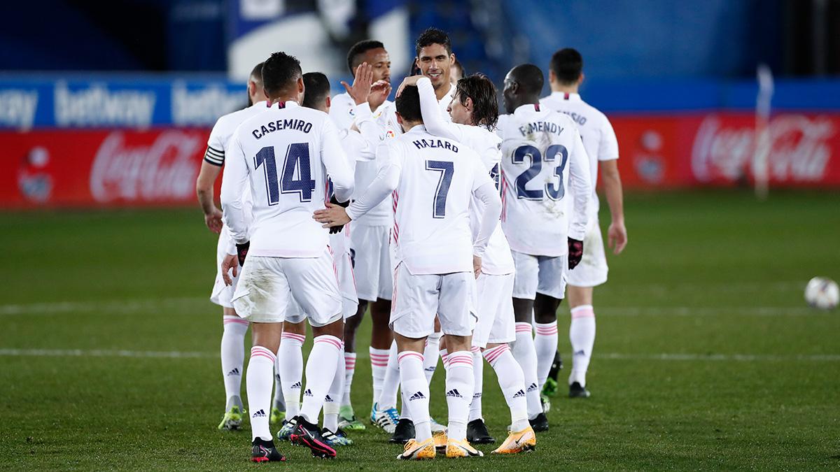 ⚽ ¡Volvemos con los 3⃣ puntos a Madrid! ¡VAMOS! 👏 #HalaMadrid