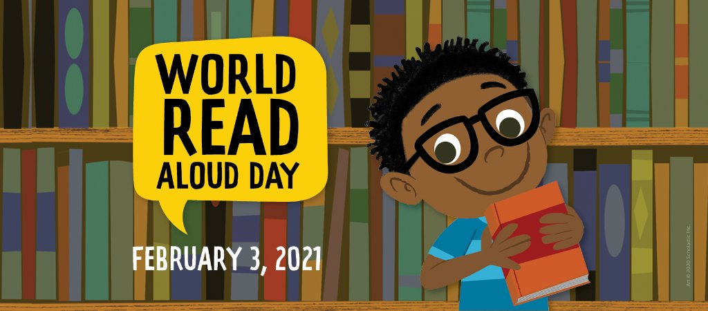 #WorldReadAloudDay is around the corner! Find out how to celebrate the special day: bit.ly/3sR0lrB