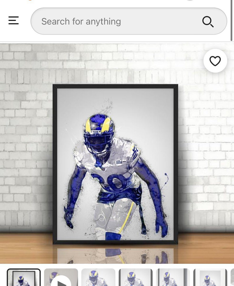 So I just bought this thing of beauty today 🔥🔥🔥 #RamsHouse