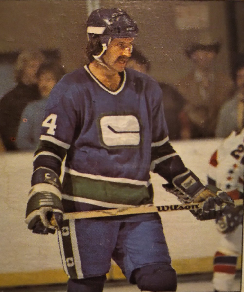 On this day in 1976: Gary Monahan scored his first career hat trick in an 8-3 win over the Minnesota North Stars. #Canucks